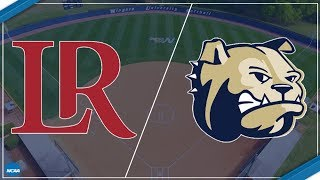 2018 South Atlantic Conference Softball - #12 Lenoir-Rhyne at Wingate (Game 2)