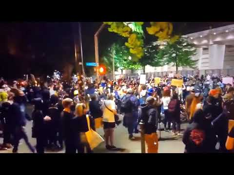 Portland Police Association Riot As People Broke In And Set Union Office On Fire