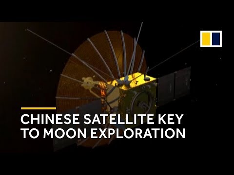 China launches relay satellite key to exploring far side of the moon