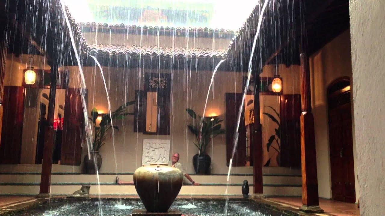 Rain In My Courtyard Youtube