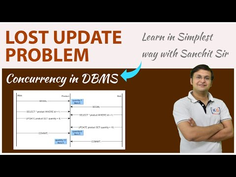 Lost Update (Write - Write conflict) Problem | DBMS | part-23