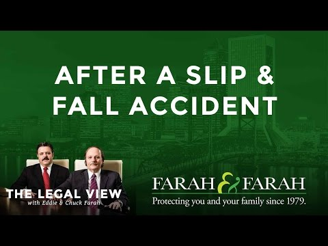What To Do After a Slip and Fall Accident in Florida