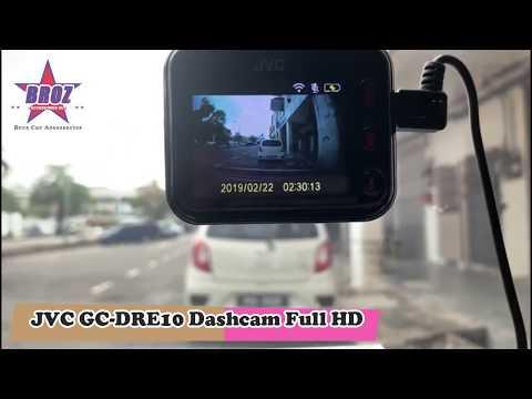 Broz Car Accessories - JVC GC-DRE 10 Dashcam