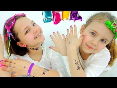 Игры для девочек: играем в салон красоты!