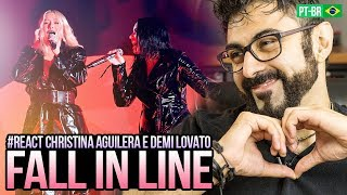 Baixar REAGINDO a Cristina Aguilera - Fall In Line ft. Demi Lovato live on