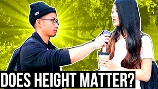 DOES HEIGHT MATTER? GIRLS ON DATING SHORT OR SHORTER GUYS IN RELATIONSHIPS (PART 3)
