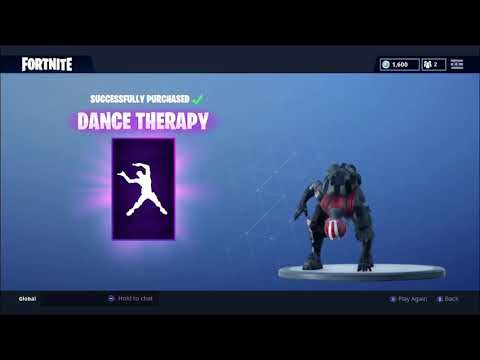 NEW! Dance Therapy Emote