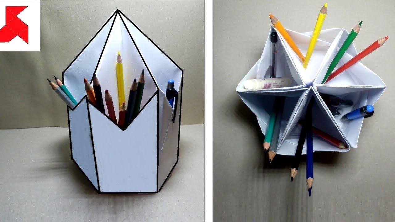 Подставка для бумаг своими руками