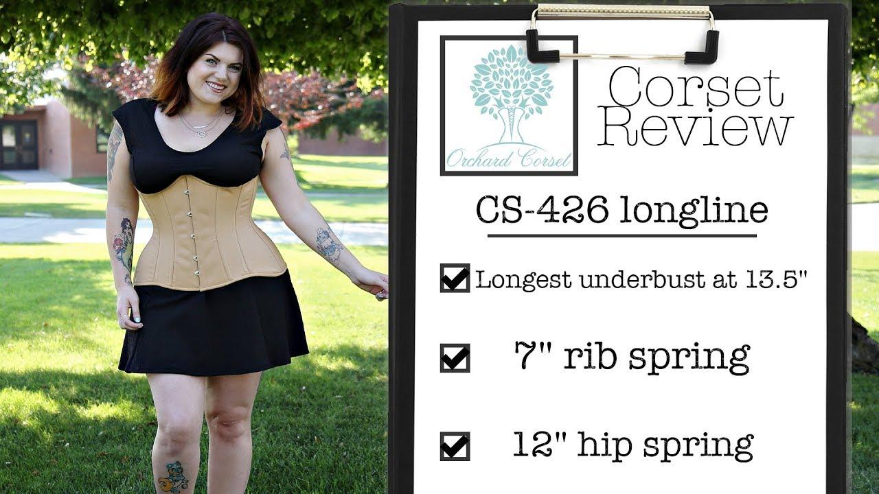 43f3b810587 Orchard Corset CS-426 Longline Corset Review - YouTube