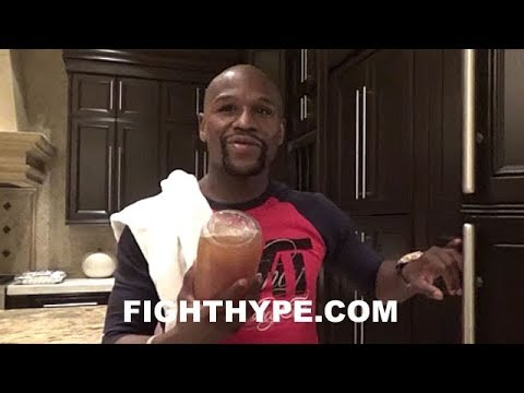 CHILLIN WITH MAYWEATHER AT BIG BOY MANSION; REVEALS BIGGER MANSION BOUGHT AHEAD OF MCGREGOR CLASH