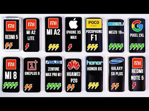 КТО ПОБЕДИТ? IPhone XS Max, Meizu 16th, POCOPHONE F1, OnePlus 6, Huawei P20, Galaxy S9 Plus и Xiaomi