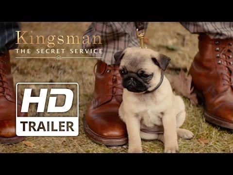 Kingsman: The Secret Service | Taron Egerton 'Puppy' Clip HD