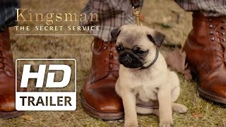 Kingsman: The Secret Service | Taron Egerton 'puppy' Clip Hd