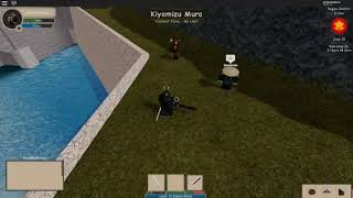 ROBLOX | Land of the Rising Sun | Kanabo fight against the Emperor