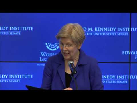 Mikulski Speaks at Edward M. Kennedy Institute Women in Leadership, Pathways and Possibilities Forum