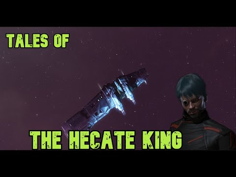 Eve Online -Tales Of The Hecate King  (hecate Vs Small Gang) Commentary