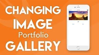 Swift 3 Tutorial - Changing Image Gallery - iOS 10 Geeky Lemon Development