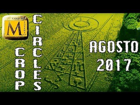 Increíble Recopilación Crop Circles Agosto 2017