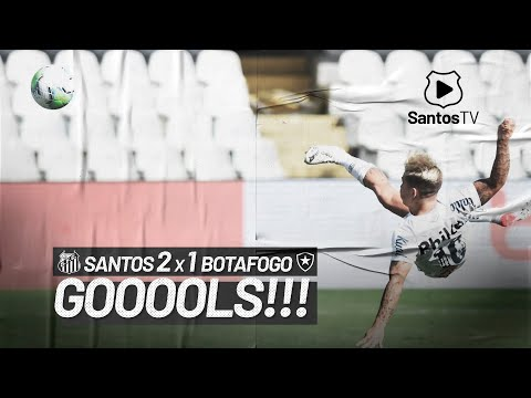SANTOS 2 X 1 BOTAFOGO | GOLS | BRASILEIRÃO (17/01/21)