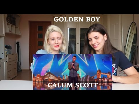 РЕАКЦИЯ (REACTION)  на  Calum Scott  | Britain's Got Talent 2015