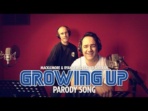 Macklemore & Ed Sheeran 'Growing Up' Parody by Fitzy & Wippa