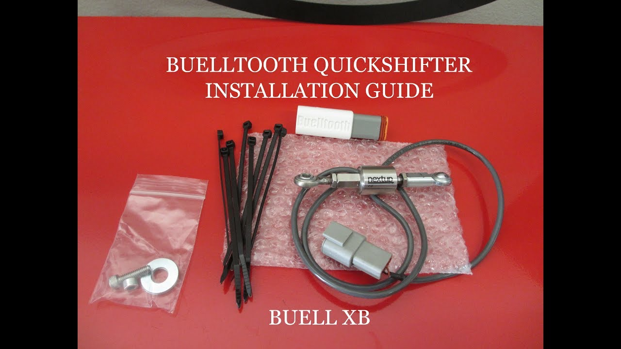 Buelltooth Quickshifter Install for Buell XB