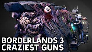 Borderlands 3 - Craziest Guns We've Seen So Far