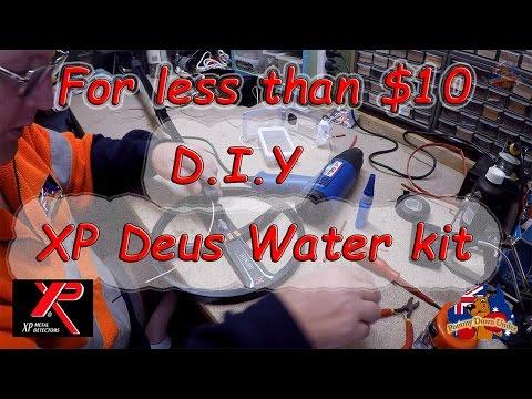#40 XP Deus, DIY water kit for under $10