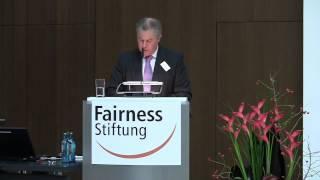 Internationales Fairness-Forum 2012 | Prof. Dr. Franz-Theo Gottwald