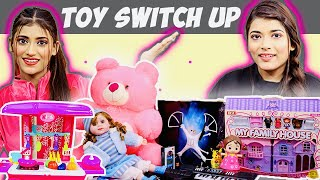 Toys Switch Up Challenge | GIVEAWAY | SAMREEN ALI