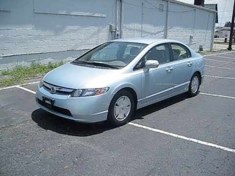 2007 Honda Civic Hybrid Start Up, Engine, and In Depth Tour