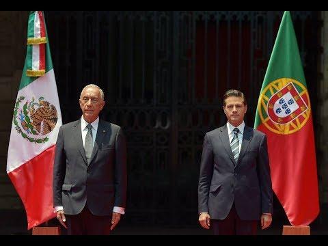 Visita de Estado del Presidente de la República Portuguesa, Marcelo Rebelo de Sousa: Bienvenida