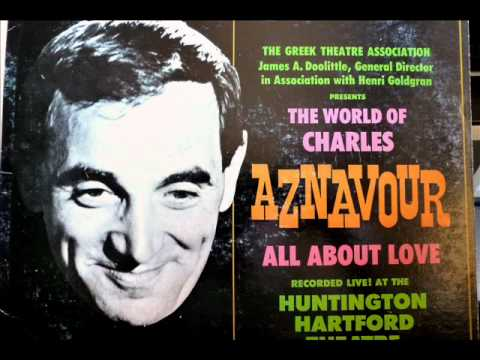 Charles Aznavour - YOU'VE GOT TO LEARN with lyrics