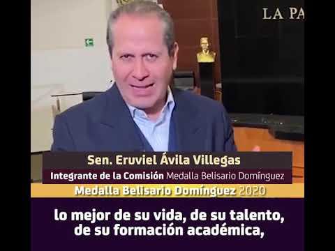 Convocatoria Medalla Belisario Domínguez 2020