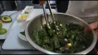 Kale, Mango And Avocado Salad