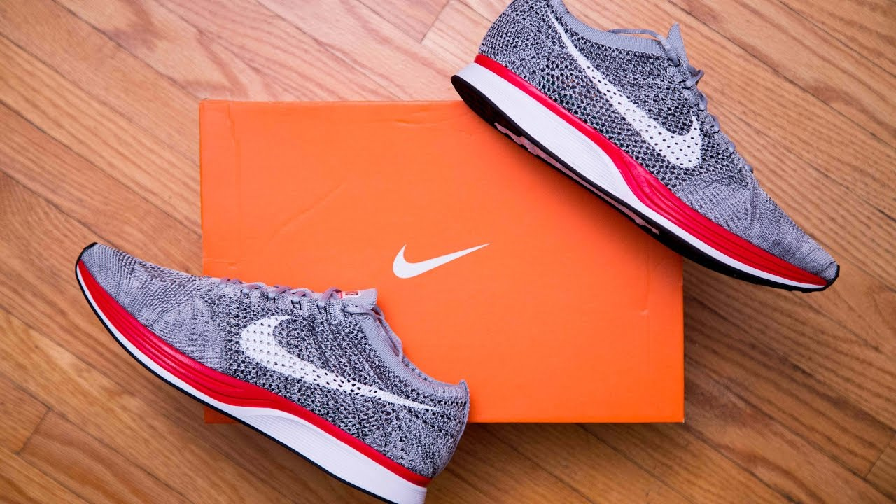 half off 65361 8e9d0 Nike Flyknit Racer Wolf Grey   No Parking Review and On Feet