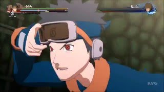 Naruto Shippuden: Ultimate Ninja Storm 4 - Obito & Kakashi vs Taiseki & Kakkou (Story Battle 3) thumbnail