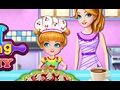 Little Chef Cooking With Mommy  -Cartoon for children -Best Kids Games -Best Baby Games