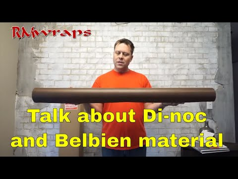 3M Di-noc and Belbien vinyl Talking about the material  Rmwraps.com