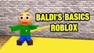 Baldi's Basics Obby! | BALDI'S BASICS ROBLOX