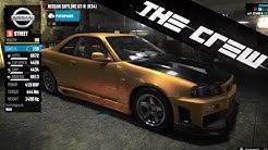 The Crew | Car Customization & Tuning - Nissan Skyline R34 GT-R, Visual, Performance (PS4) [HD]