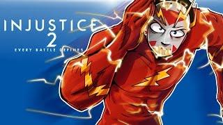 INJUSTICE 2 - I'M THE FASTEST BUTTON MASHER! I AM FLASHLIRIOUS!