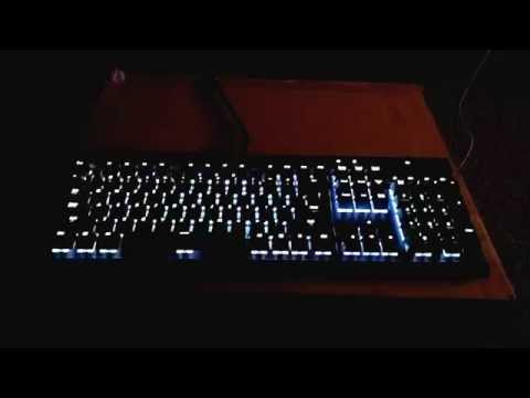 Corsair K70 RGB Music Visualizer in Linux! : MechanicalKeyboards