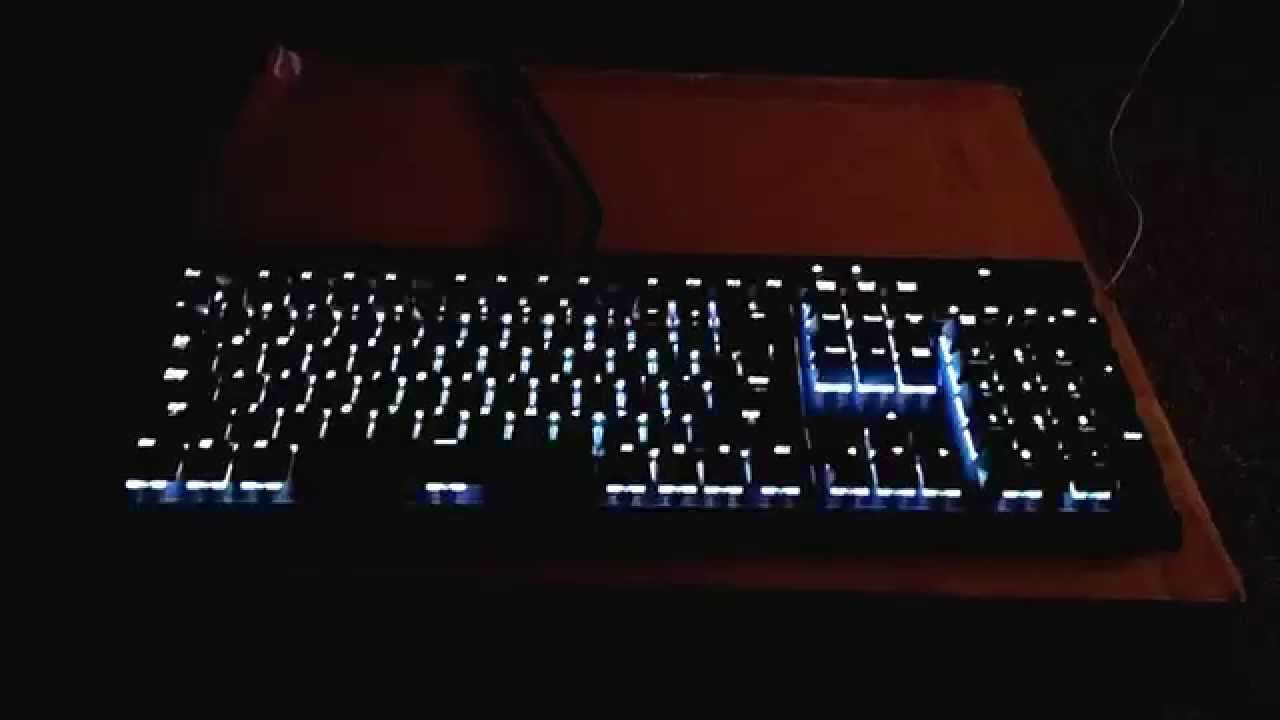 Corsair K70 RGB Music Visualizer USB reverse engin