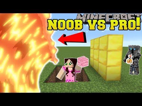 Minecraft: NOOB VS PRO!!! - MAGMA RUNNER! - Mini-Game