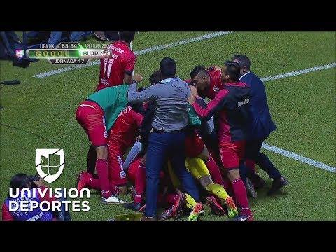 ¡GOL!  'Maza' Rodríguez | Puebla 0-1 Lobos BUAP