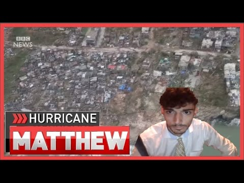 ICE POSEIDON STREAMS HURRICANE MATTHEW LIVE MINUTES BEFORE IT REACHES FLORIDA WITH CHAT