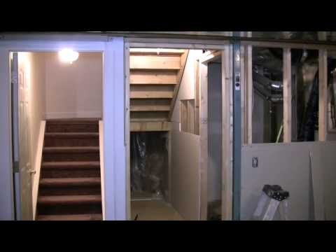 A Small Basement Renovation