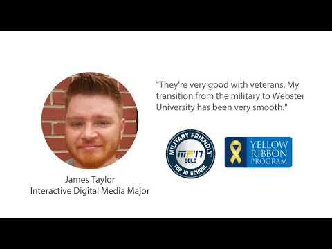 Transfer to Webster | Great for Veterans & Military