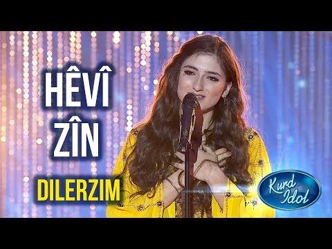 Kurd Idol - Hêvî Zîn-Dilerzim /هێفی زین-دەلەرزم